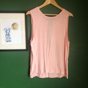 fp movement tank in ballet pink size L